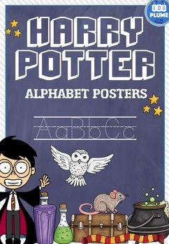 HARRY POTTER & WIZARD ALPHABET POSTERS (MAGIC)