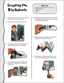 HARRY POTTER by J. K. Rowling: Studying Characters—10 Big Galoots Foldables