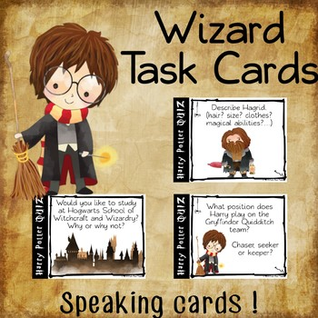 picture regarding Harry Potter Activities Printable named Wizard printable activity playing cards for Harry Potter followers ★ Contemporary Variation ★