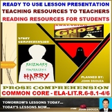 HARRY: PROSE COMPREHENSION - POWERPOINT PRESENTATION - 5 SESSIONS