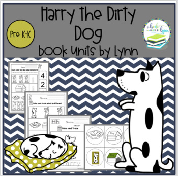 Harry the Dirty Dog in the Bathroom coloring page | Free Printable ... | 347x350