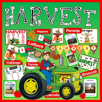 HARVEST FESTIVAL AND FARM SHOP ROLE PLAY SCIENCE FOOD EYFS KS1-2 SEASON