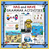 HAS and HAVE Grammar Activities