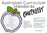 HASS ACARA Standard Checklist