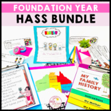Geography and History  Bundle  Foundation Year Australian Curriculum HASS