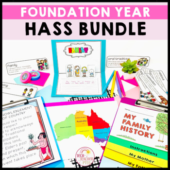 HASS Bundle - Geography Unit and History Unit aligned to F