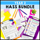 Geography and History Year 2 Bundle Australian Curriculum HASS