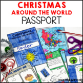 Christmas Around the World PASSPORT 25 Countries Maps Stamps Boarding Pass