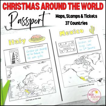Christmas Around the World ** Passport Workbook ** Travel