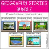 Geography Stories Bundle Landforms Bodies of Water Managed