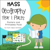 HASS - Geography //  Year 1 Natural, Constructed and Managed Features of Places