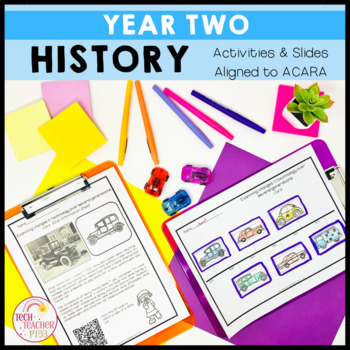 HASS History Unit Year 2 Historical Significance and Changes Over Time