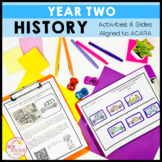 History Unit Year 2 Historical Significance and Changes Over Time HASS