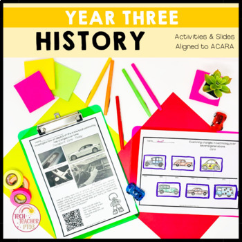 HASS History Unit Year 3 Changes in a community & celebrating significant events