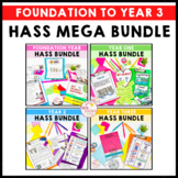 HASS Mega Bundle Geography and History Units Years F-3 aligned ACARA