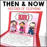 Then and Now Social Studies History of Clothing 1920 to 1990 Research Pack