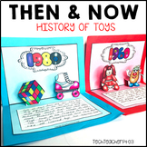 Long Ago and Today Then Now Social Studies Activities History of Toys
