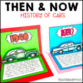 Long Ago and Today Then Now Social Studies History of Transport Cars