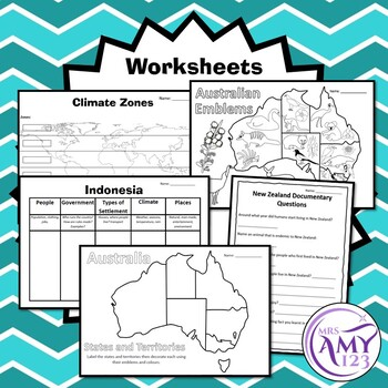 YEAR 3 HASS Australia and its Neighbours - Geography