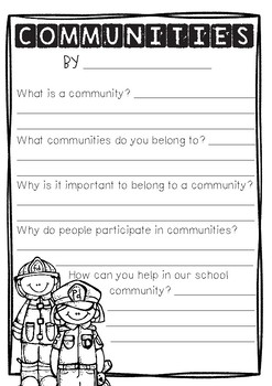 HASS | Year 3 Civics and Citizenship: Communities