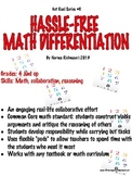 HASSLE-FREE DIFFERENTIATED MATH LESSON PLAN: ENGAGING! COMMON CORE! PODS!