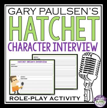 HATCHET CHARACTER INTERVIEW