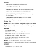 HATCHET COMPREHENSION QUESTIONS, 133 CHAPTER QUESTIONS + V