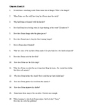 HATCHET COMPREHENSION QUESTIONS, 89 CHAPTER QUESTIONS 6 PGS, HATCHET NOVEL STUDY