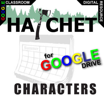 HATCHET Characters Organizer (Created for Digital)