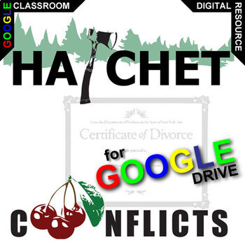 HATCHET Conflict Graphic Organizer (Created for Digital)