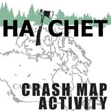 HATCHET Crash Map Activity (by Gary Paulsen)