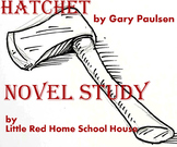 HATCHET Novel Study Questions by Chapter Comprehension Guide