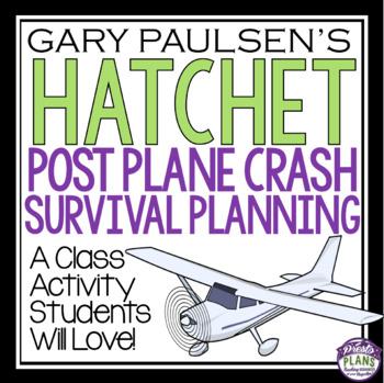 HATCHET ACTIVITY: PLANE CRASH