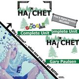 HATCHET Unit Novel Study - Literature Guide (Print & Digital Included)