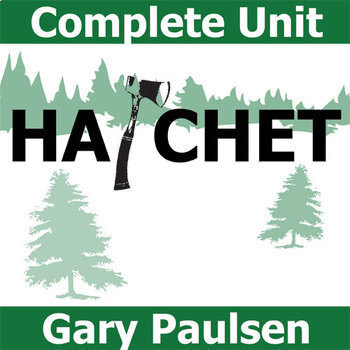 hatchet unit novel study by gary paulsen literature guide tpt hatchet unit novel study by gary paulsen literature guide