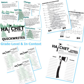 Hatchet - Novel Studies