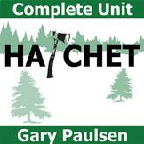 HATCHET Unit Plan - Novel Study Bundle (Gary Paulsen) - Li