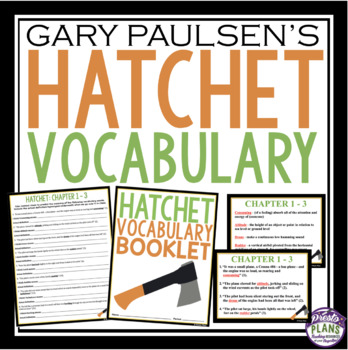 HATCHET VOCABULARY