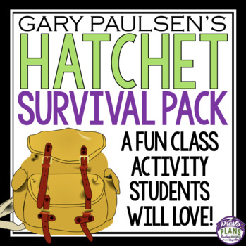 Activity ideas for hatchet teaching resources teachers pay teachers hatchet activity survival pack hatchet activity survival pack fandeluxe Image collections