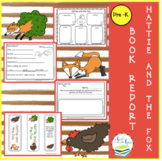 HATTIE AND THE FOX BOOK REPORT