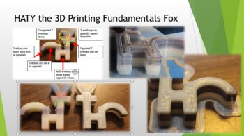 HATY the 3D printing support fox demo