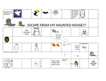 HAUNTED HOUSE ARTICULATION GAME
