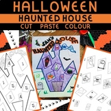 HAUNTED HOUSE CUT AND PASTE