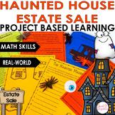 HAUNTED HOUSE ESTATE SALE   Halloween Project Based Learni