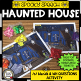 HAUNTED SPEECH HOUSE SPEECH THERAPY SPECIAL ED HALLOWEEN