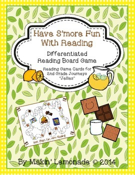 """HAVING S'MORE FUN WITH READING Journeys """"Jellies"""" Reading Cards"""