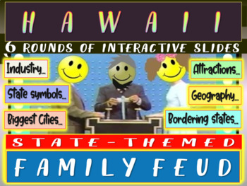 HAWAII FAMILY FEUD! Engaging game about cities, geography, industry & more