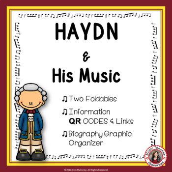Music Composers: HAYDN Foldables: Music Listening Activities
