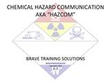 HAZCOM Right to Know Powerpoint Training Presentation