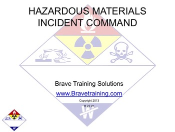 HAZMAT INCIDENT COMMAND PPT PRESENTATION (hazardous material)